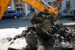 У Львові повним ходом йде ремонт проспекту Свободи (ФОТО)