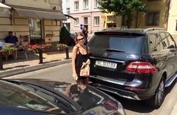 Відома ведуча Ольга Фреймут у центрі дорожнього скандалу у Львові