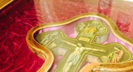 У львівському соборі Святого Юра виставили Хрест зі Святої Землі