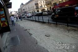 Через брак коштів ремонт на проспекті Шевченка у Львові заморозили (ФОТО)