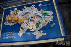 У Львові у центрі міста відкрили оригінальну дерев`яну карту України (ФОТО)