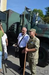 В Академії сухопутних військ у Львові показали сучасне озброєння (ФОТО)
