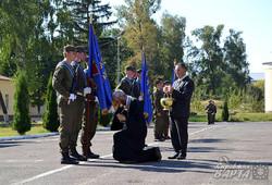 У Львові нацгвардійці отримали бойові прапори та квартири (ФОТО)