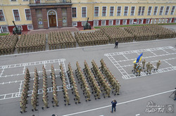 У Львові склали присягу більше півтисячі курсантів Академії сухопутних військ (ФОТО)