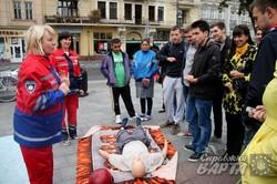 У Львові медики розповіли та показали як рятувати життя постраждалим (ФОТО)