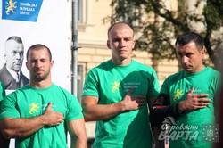 """У Львові проходить турнір з армреслінгу """"Битва міст"""" (ФОТО)"""