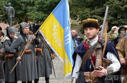 Назад у минуле: Як Львовом марширували захисники Руси-України (ФОТО)