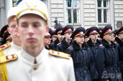 У Львові склали присягнули 300 першокурсників військового ліцею ім. Героїв Крут (ФОТО)