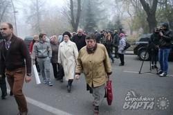 У Львові хворі на хронічну ниркову недостатність знову вийшли на протест (ФОТО)