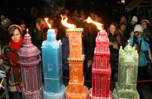 На Фестивалі Свічок у Львові куватимуть підсвічники та створять свічкову мозаїку
