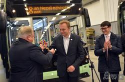 Трамвай львівського виробницва їде в Київ на випробування (ФОТО)