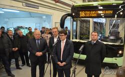 «Електрон» презентував у Львові перший в Україні електробус (ФОТО)