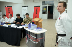 У Львові відбулась презентація українського перекладу книги Ґодзо Шіоди «Айкідо шюґьо» (ФОТО)