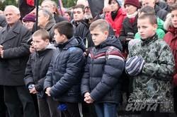 У другу річницю Революції Гідності львів`яни провели екуменічну молитву та віче (ФОТО)