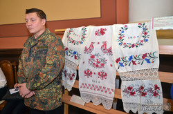 Боєць добровольчого батальйону «Айдар» Микола Павлюченко