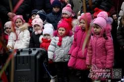 У львівському Парку культури відкрили сезон Зимового парку та зустріли Миколая (ФОТО)