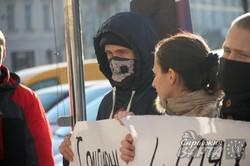 У Львові відбулась акція солідарності зі страйкуючими шахтарями (ФОТО)