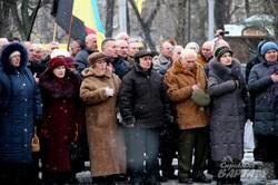У Львові вшанували пам`ять провідника українського духу Степана Бандери (ФОТО)