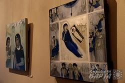 """У львівській галереї сакрального мистецтва """"ІконАрт"""" триває виставка """"ANDANTE"""" (ФОТО)"""