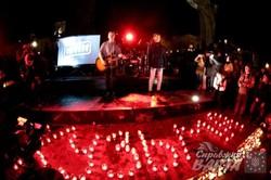 У Львові сотні людей прийшли на вечір пам`яті Кузьми Скрябіна (ФОТО)
