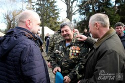 У річницю Дня виведення військ з Афганістану у Львові влаштували пам`ятну ходу (ФОТО)