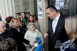 У Львові активісти вимагали звільнення генпрокурора Віктора Шокіна (ФОТО)