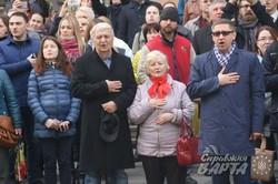 У Львові урочисто відзначили 26-ту річницю підняття національного стягу над Ратушею (ФОТО)