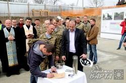 У Львові заклали капсулу першого будинку для воїнів АТО (ФОТО)