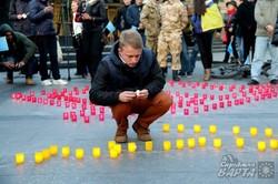 У Львові відбувся траурний мітинг до 72-ї річниці депортації кримських татар (ФОТО)