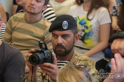Джамала у Львові зустрілась із кримськими переселенцями та львів`янами (ФОТО)