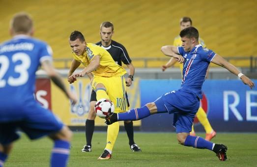 Україна – Ісландія: скромний дебют Андрія Шевченка