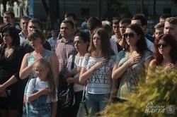 У Львові урочисто відкрили меморіал Героям Небесної сотні та загиблим воїнам АТО (ФОТО)