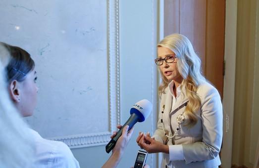 Тимошенко знову понесло. На цей раз вона задумала відзвітувати перед українцями