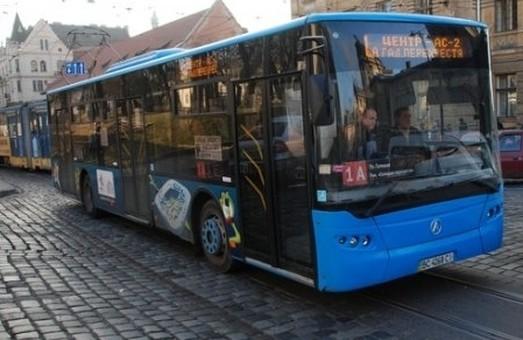 Львовом курсуватимуть нові автобуси