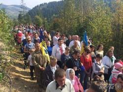 На Львівщині  тисяча людей помолилась за мир в Україні