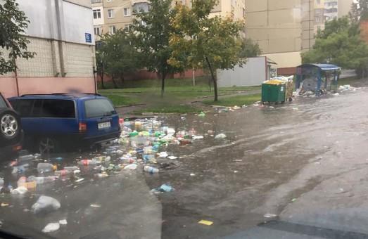 Негода зробила Львів непроїзним і травмонебезпечним