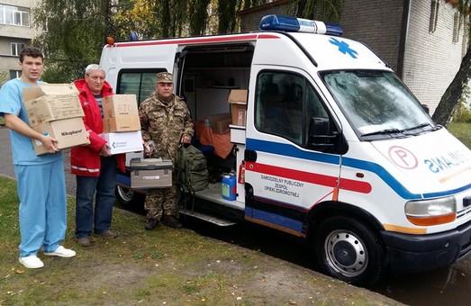 Львівські волонтери відправили в АТО реанімобіль