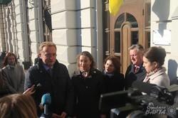 У Львові відкрили інформаційну таблицю на будівлі екс-консульства Французької Республіки (ФОТО)