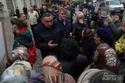 Мешканці прилеглих до Львова сіл вимагають належного маршрутного сполучення (ФОТО)
