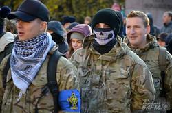 """У Львові пройшов """"Марш справедливості"""" на підтримку політв'язнів та проти """"диктаторських законів"""" (ФОТО)"""