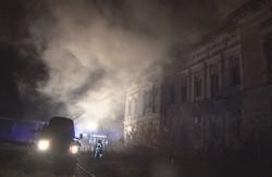 Біля Львова вогонь мало не знищив пам`ятку архітектури (ФОТО)