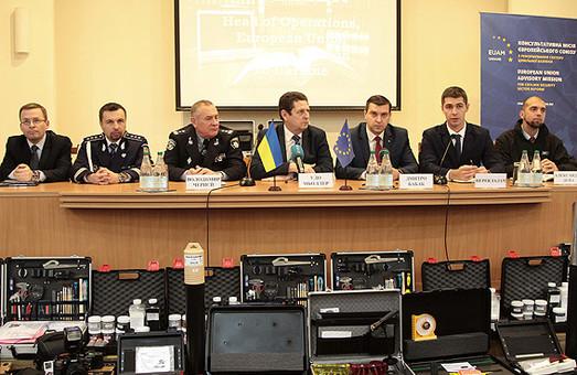 Найсучасніше обладнання тепер у арсеналі українських полісменів