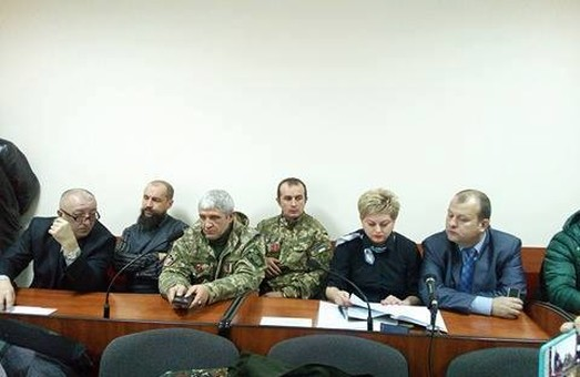 В Івано-Франківську Правий сектор підтримав у суді побратима-росіянина