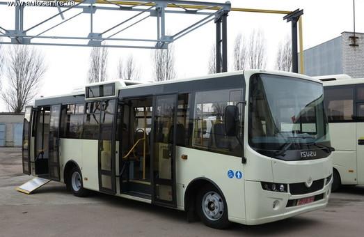 Люди у візку зможуть користуватися львівськими автобусами