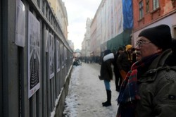 До Міжнародного дня людей з інвалідністю у Львові просто неба відкрили незвичну виставку (ФОТО)