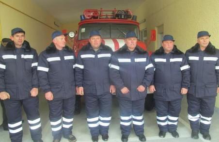 На Самбірщині представили новостворену місцеву пожежну команду
