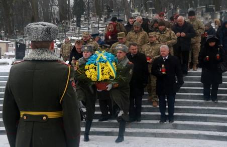 У Львові вшанували пам`ять борців за незалежність України (ФОТО)