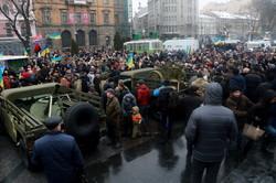 До Дня Збройних Сил України у Львові представили виставку воєнної техніки (ФОТО)
