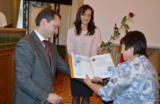 У Львівській ОДА відзначили активістів, які допомагають людям з інвалідністю