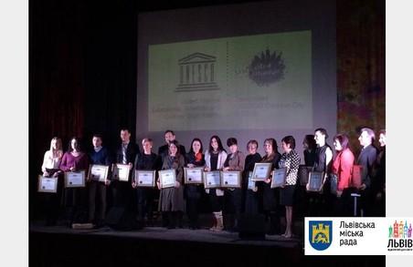 Працівники культури були нагороджені преміями у Львові